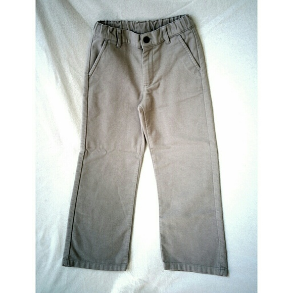 Janie and Jack Other - Janie & Jack Brushed Grey Pants